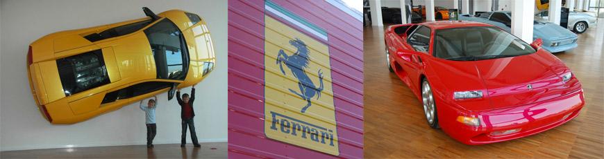 MT1 Ferrari & Lamborghini tour – Museums